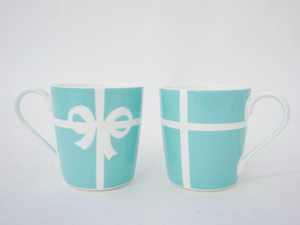 ティファニー ブルーボックスペアマグカップ