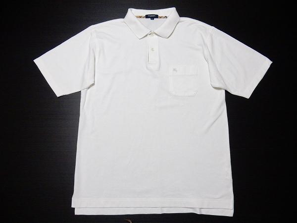 バーバリー メンズ半袖ポロシャツ