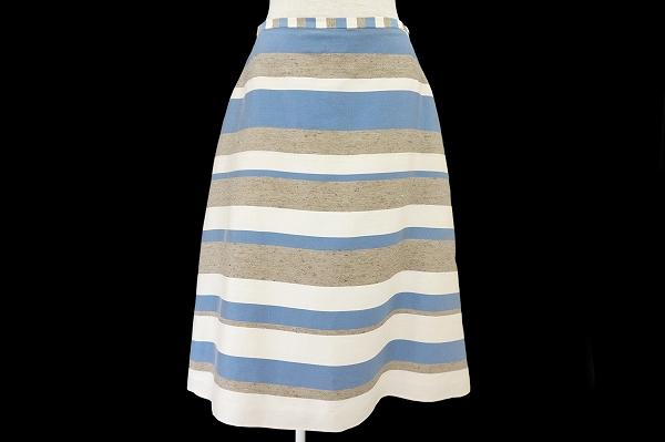 ミナぺルホネン/麻シルク混スカート