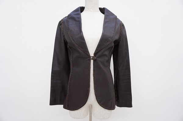 ヒステリックス 山羊革ジャケット