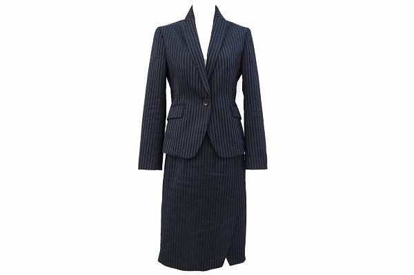 トゥモローランド スカートスーツ2Pストライプ