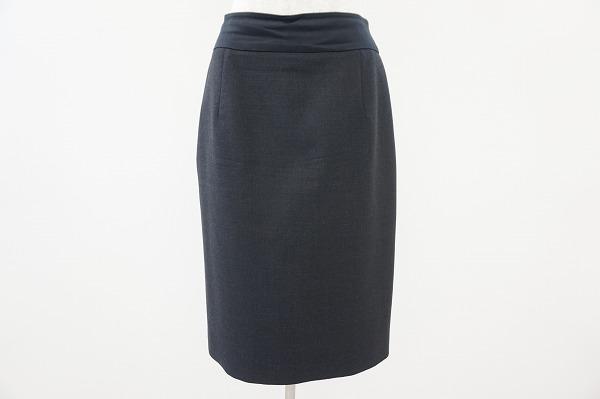 フォクシー シルク混スカート