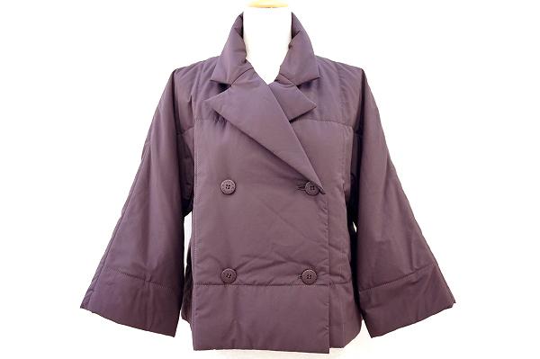 プリーツプリーズ コート 中綿ジャケット