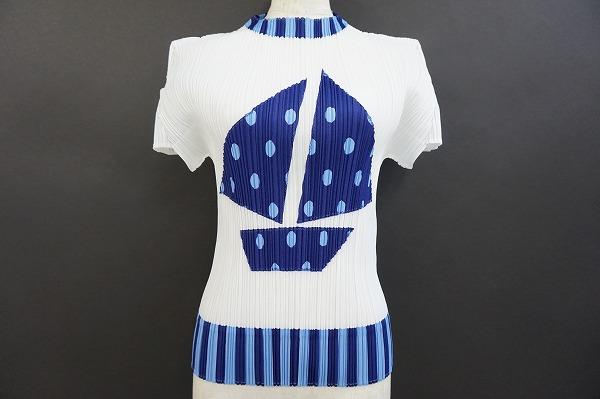 プリーツプリーズ 半袖Tシャツ ヨット