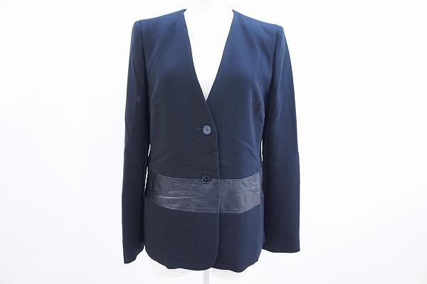 マックスマーラ レザー使いジャケット