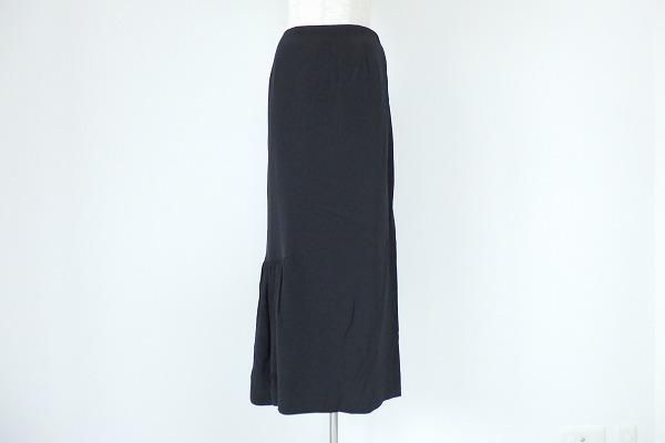 ヨウジヤマモト/シルク混スカート