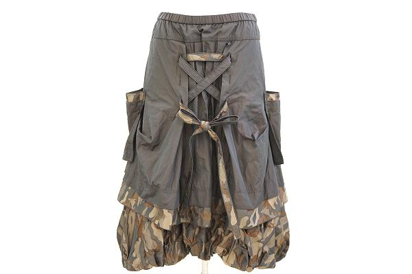 エイココンドウ/カモフラバルーンスカート