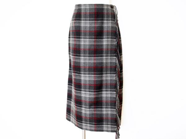 ラジョコンダ/チェック巻きスカート