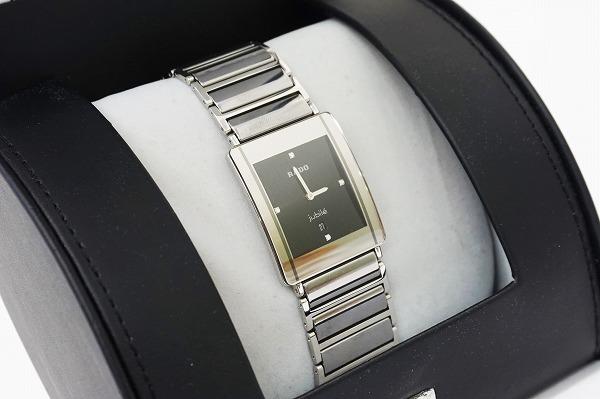 ラドー 腕時計ジュビリー ダイヤシルバー