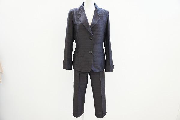 ラム 絹パンツスーツ
