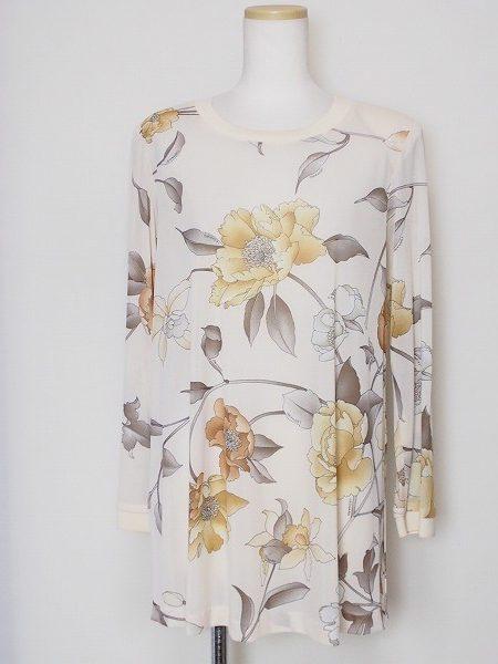 レオナール 花柄チュニック