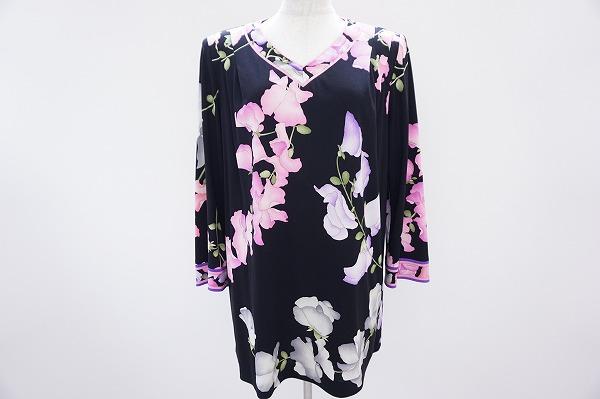 レオナール 花柄カットソー