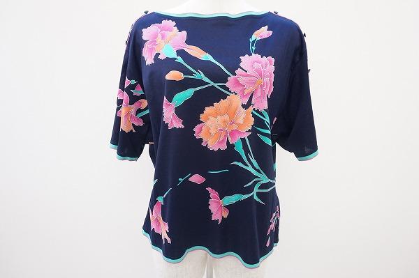 レオナール カットソー 半袖Tシャツ
