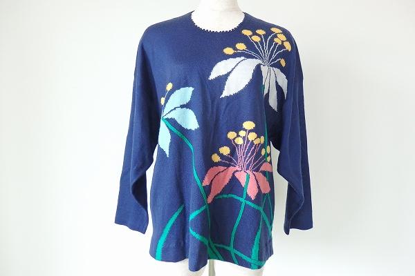 サイトウトヨコ/ニット セーター花柄