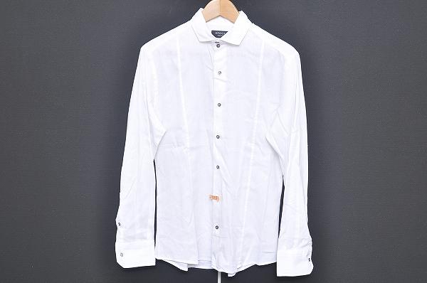 エポカ メンズリネン長袖シャツ
