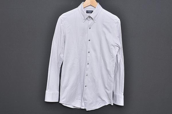 エポカ メンズ長袖シャツ