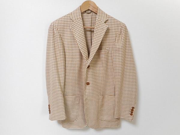 エリコフォルミコラ メンズシルクジャケット
