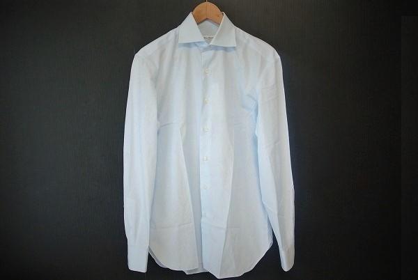 エリコフォルミコラ メンズ長袖シャツ