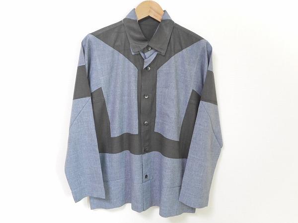 イッセイミヤケオムプリッセ/メンズ長袖シャツ