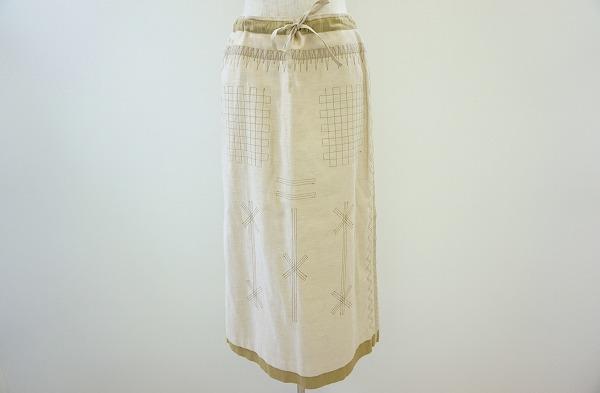 イッセイミヤケハート ロングスカート