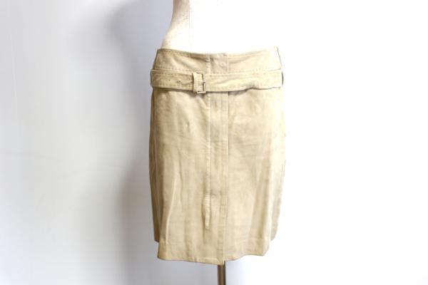 マックスマーラ/スエードスカート