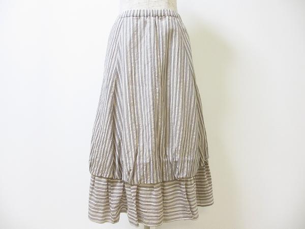 イオコムイオ/ストライプロングスカート