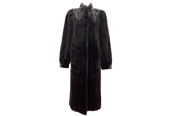 サガミンク 逆毛ミンク毛皮コート