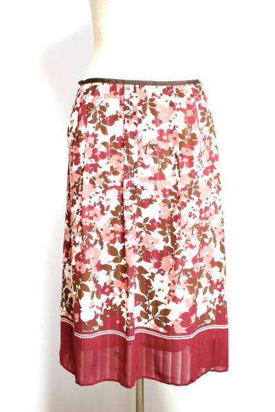 ニューヨーカー スカート花柄