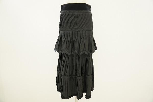クラスロベルトカヴァリ シルク混スカート