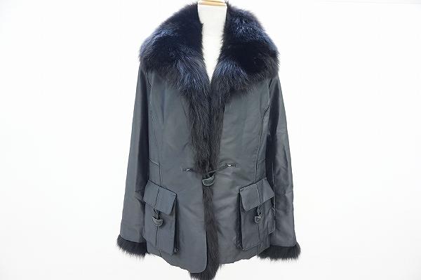 銀座マギー/ファー付コート