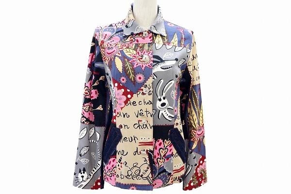 アルベロベロ/ウサギモチーフジャケット