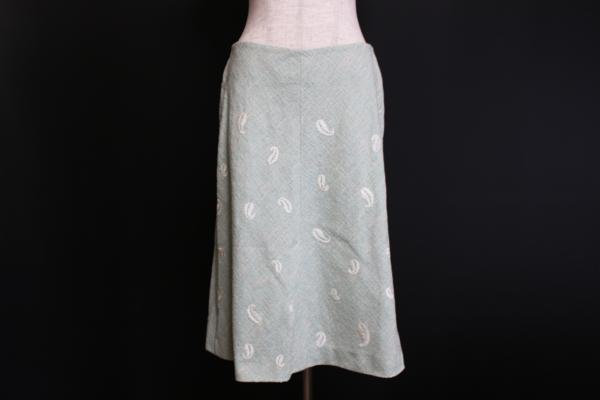 ジュンコシマダ ターコイズスカートスーツ