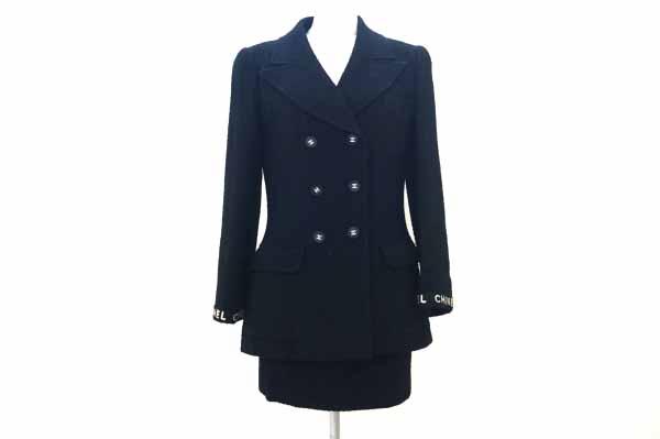 シャネル/ココボタンスカートスーツ
