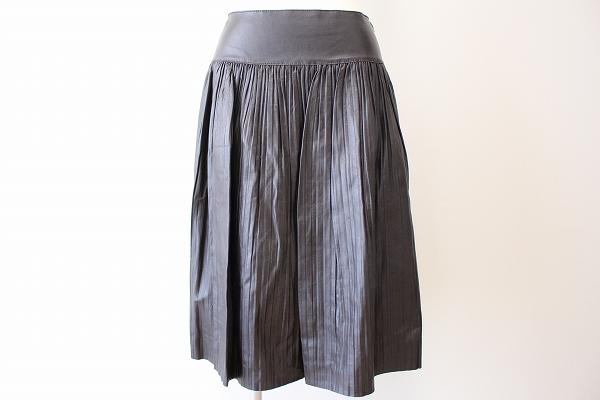 デュアルヴュー 羊革スカート