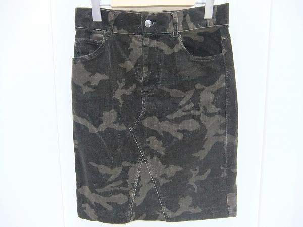 モロコバー カモフラージュ柄 スカート