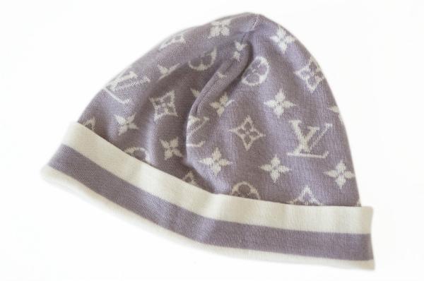 ルイヴィトン 帽子 セーター帽 カシミヤ シルク