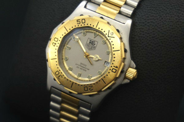 タグホイヤー 腕時計 シルバー ゴールド