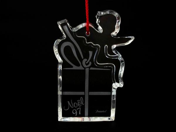 バカラ クリスマスオーナメント クリア クリスタルガラス
