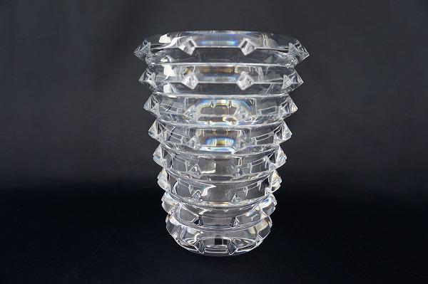 バカラ クリア アイ フラワーベース クリスタルガラス