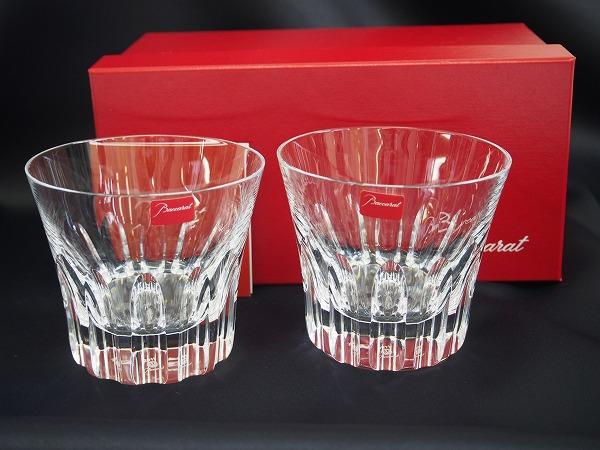 バカラ ペアグラス タンブラー クリア クリスタルガラス