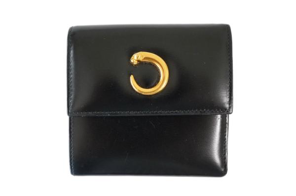 カルティエ 3つ折り財布 パンテール