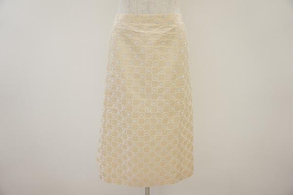 ジバンシィ シルク混スカート