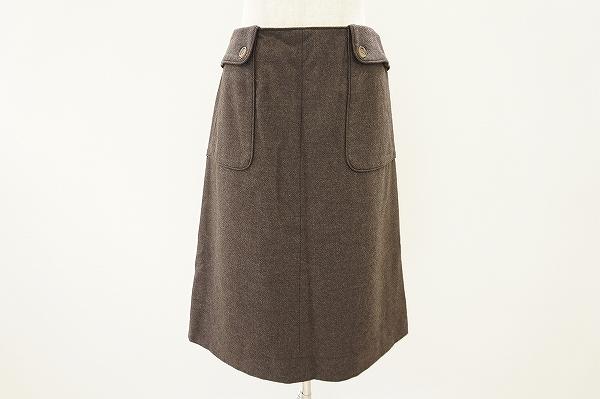 ジバンシィ カシミヤ混スカート