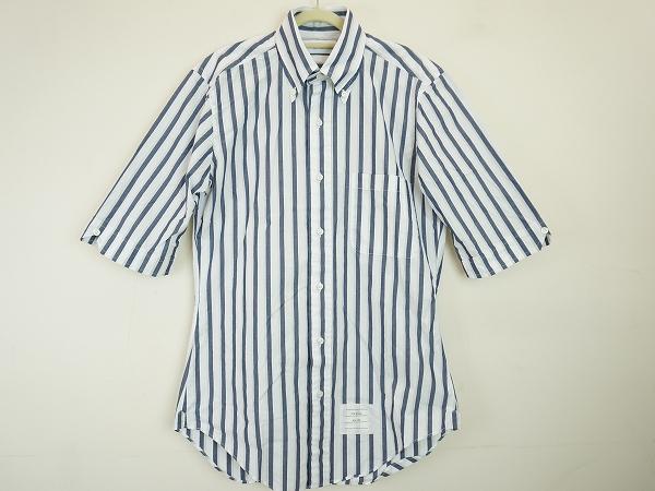 トムブラウン 半袖シャツ