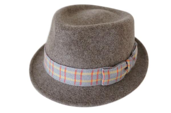 アンソニーペト 帽子 フランス製中折れフェルトハット