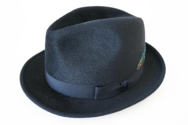 クリスティーズ 帽子 英国製中折れフェルトハット