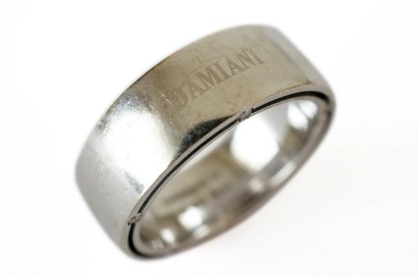 ダミアーニ 指輪 シルバーリング 10Pダイヤ