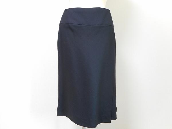 ナチュラルビューティ シルク混スカート