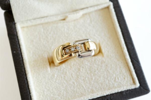 ルジアダ 指輪 ダイヤ ゴールド シルバー
