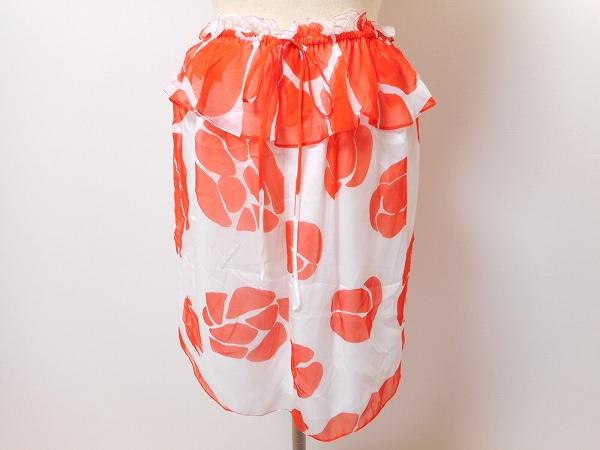 ミリー 花柄 スカート フリル
